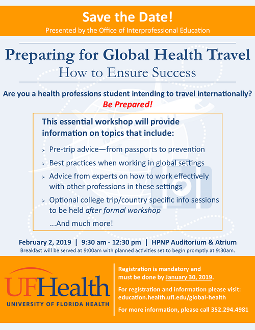 Larger version of Preparing for Global Health Travel