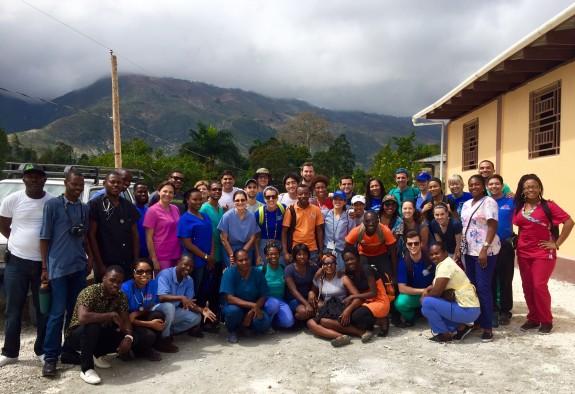 2016 Haiti group photo